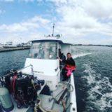 2019.5.13 水戸へダイビングに行ってきました!!初めての茨城の海、そして初めての船釣り!楽しかったー。