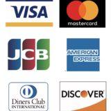 各種クレジットカードがご利用頂けるようになりました!!ご利用お待ちしております。
